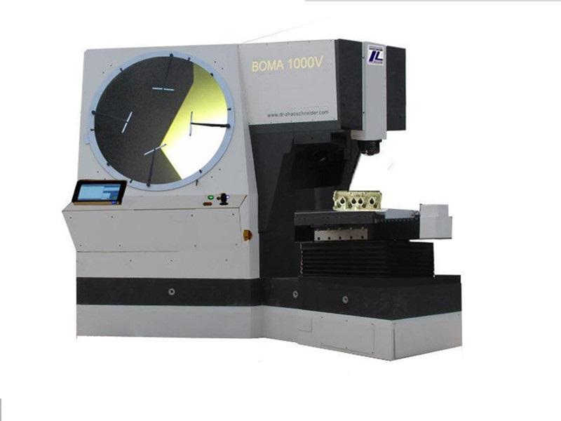 赵施奈德BOMA 1000V大型轮廓测量投影仪